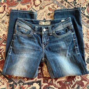 bke harper crop jeans